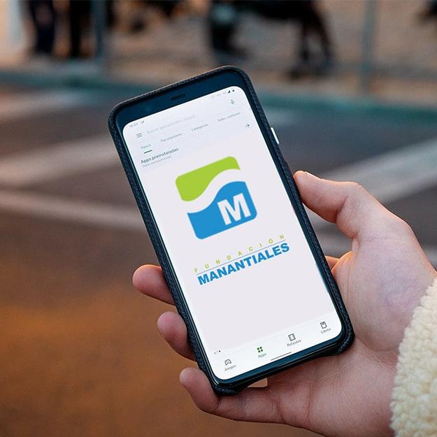 app manantiales